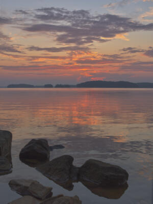 Sunrise over Lake Lanier
