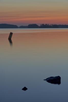 Twilight color at Lake Lanier