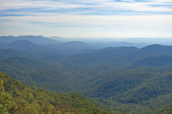 The view from Preacher's Rock