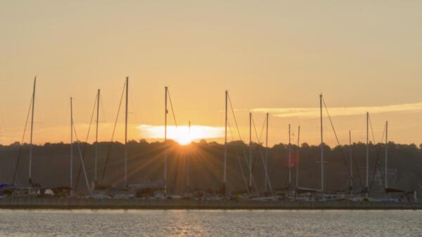 Sunrise over Sunrise Sail